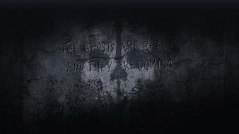 Wall call of duty: ghosts wallpaper