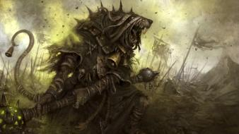 Warhammer fantasy art skaven Wallpaper