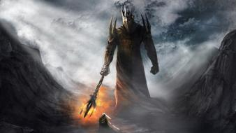 Warriors silmarillion jrr tolkien gods morgoth fingolfin Wallpaper