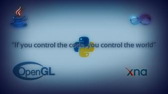 World programming control wallpaper
