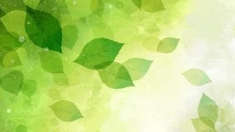 Abstract leaves wallpaper