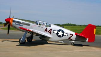 Aircraft red p-51 p51 mustang wallpaper