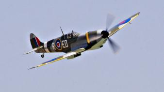 Aircraft supermarine spitfire wallpaper