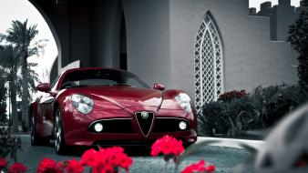 Alfa romeo 8c sports cars competizione car wallpaper