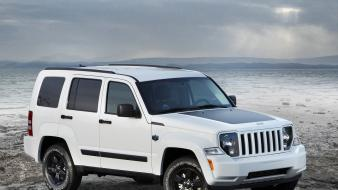 Arctic jeep 4x4 liberty auto Wallpaper