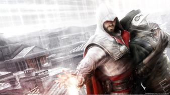 Assassins creed brotherhood ezio auditore da firenze wallpaper