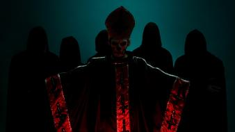 Band ghost pope papa Wallpaper
