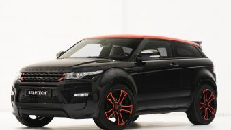 Black range rover evoque startech wallpaper