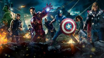 Bruce banner steve rogers clint barton (movie) wallpaper