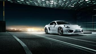 Cars porsche cayman tuning techart Wallpaper