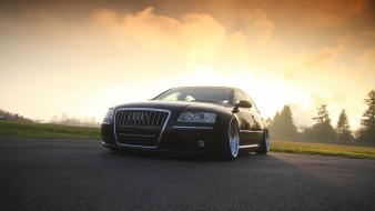 Cars stance hella flush audi s8 low Wallpaper