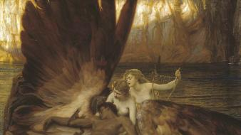 Classic art greek mythology herbert james draper wallpaper