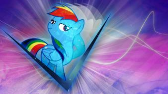 Dash my little pony: friendship is magic wallpaper
