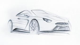 Design sketch wallpaper