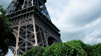 Eiffel tower scenic cities wallpaper