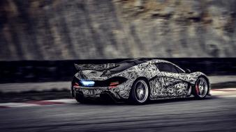 Flames cars roads vehicles mclaren p1 automobile hypercars wallpaper