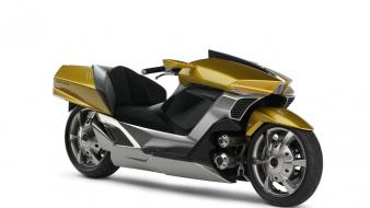 Gold yamaha motorbikes 2007 wallpaper