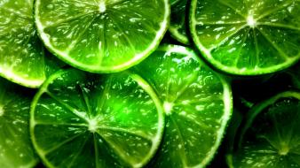Green lemons wallpaper