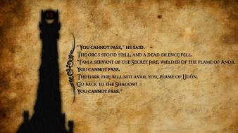 Grunge quotes sauron the lord of rings wallpaper