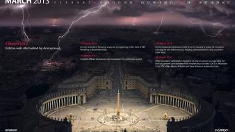 Hackers historic vatican city march virus kaspersky Wallpaper