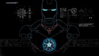 Iron man tony stark industries wallpaper