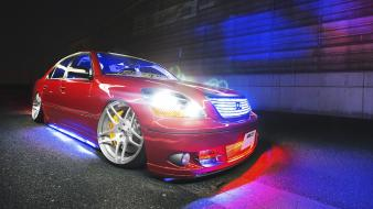 Japan cars slammed toyota celsior wallpaper