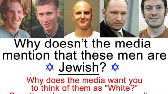 Jew racism media lie serial killer wallpaper