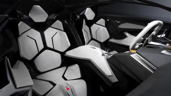 Lamborghini interior concept art wallpaper