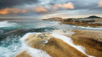Landscapes hdr photography sea Wallpaper
