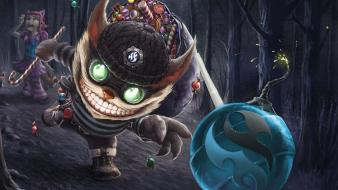 League of legends ziggs annie wallpaper
