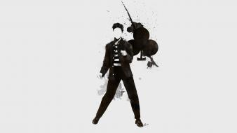 Minimalistic music green day billie joe armstrong simplistic wallpaper