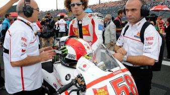 Moto gp marco simoncelli Wallpaper