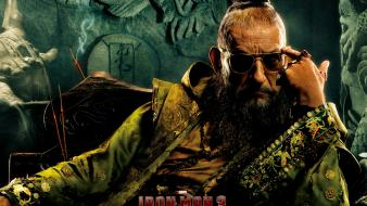 Movies iron man 3 ben kingsley the mandarin wallpaper