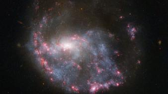 Outer space stars galaxies nasa wallpaper