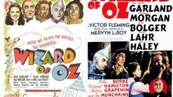 Retro wizard of oz movie posters wallpaper