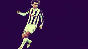 Soccer professional stars football teams andrea pirlo player wallpaper