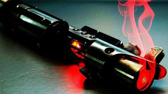 Star wars lightsabers weaponry wallpaper