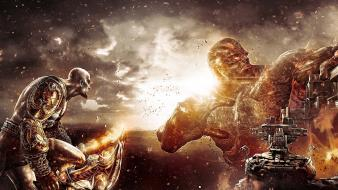 Titan god of war hermes 3 kratos wallpaper