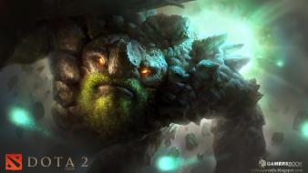 Valve corporation dota 2 tiny combo wisp wallpaper