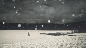Winter love alone lonely quotes wallpaper