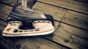 Wood steel blade hockey nike skates fantasia bauer wallpaper