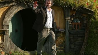 Bag end waving directors an unexpected journey wallpaper