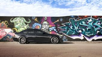 Bmw cars graffiti e90 auto wallpaper