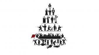 Capitalism priest pyramids white background kings wallpaper