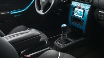 Cars console interior tuning audi a3 eset wallpaper