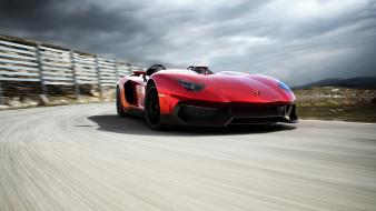 Cars lamborghini aventador speed j wallpaper