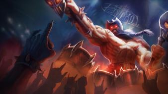 Champions online riot moba metal game pentakill wallpaper