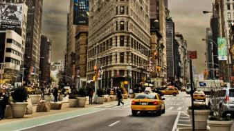 Cityscapes new york city wallpaper