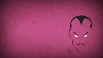 Comics characters pink background villians sinestro blo0p Wallpaper