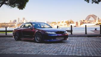 Domestic market nissan silvia sydney harbour bridge wallpaper
